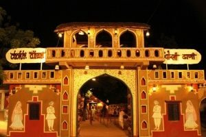 Jaipur Night Tour with Chokhi Dhani